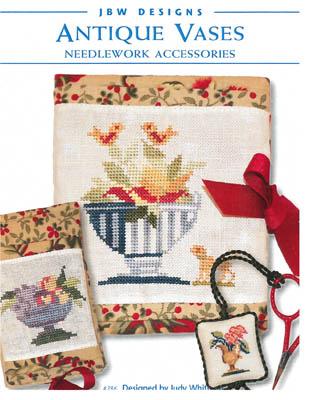 Antique Vase Needlework Accessories