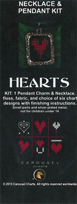 Hearts Necklace Pendant Kit