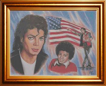 Michael Jackson-American Legend