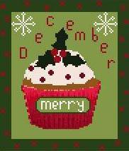 December Cupcake