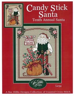 Candy Stick Santa