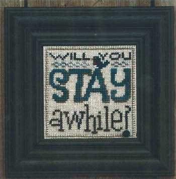 Welcome To Our Home-Will You Stay A While