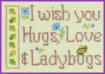 Hugs Love & Ladybugs