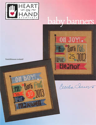 Baby Banners (w/emb)