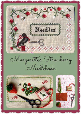 Margarette's Strawberry Needlebook