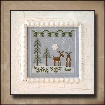 Frosty Forest 8-Snowy Reindeer