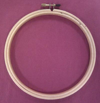 Wood Embroidery Hoop 6
