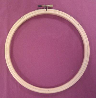 Wood Embroidery Hoop 7