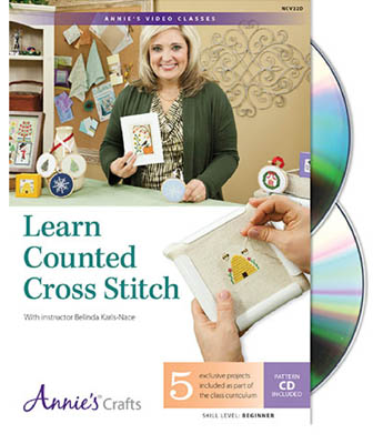 Learn Counted Cross Stitch DVD