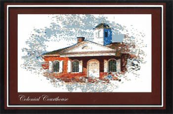 Colonial Courthouse (ColonialSeries 1)
