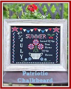 Patriotic Chalkboard