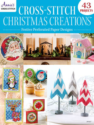 Festive Cross Stitch For Perforated Paper