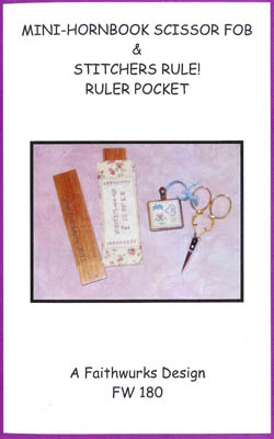 Mini Hornbook & Ruler Pocket