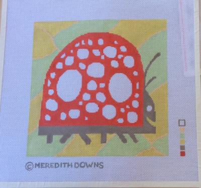 Ladybug (Painted Canvas)