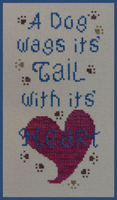 Dog Wags It's Tail, A
