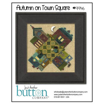 Autumn On Town Square Btn Pk (w/free chart)