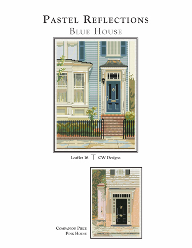 Pastel Reflections-Blue House