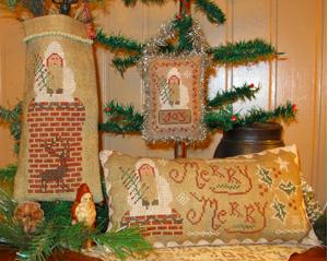 Belsnickle Chimney Santa