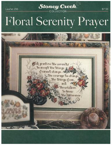 Floral Serenity Prayer