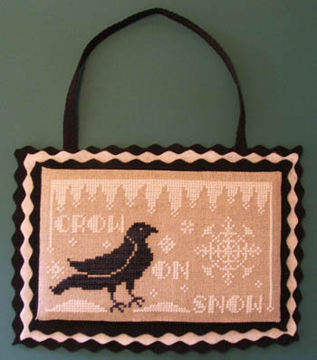 Crow On Snow