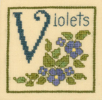 V Is For Violets