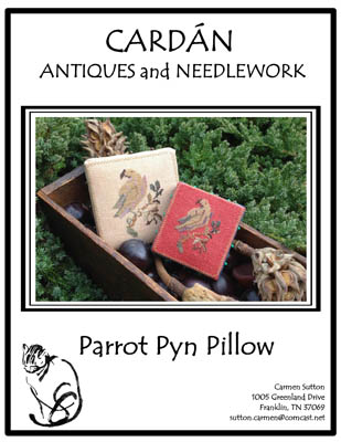 Parrot Pyn Pillow