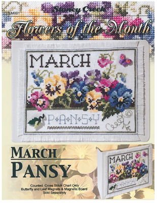 Flowers Of The Month-March