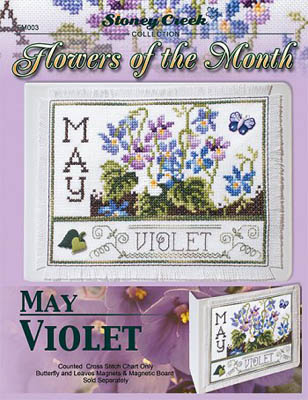 Flowers Of The Month-May Violet