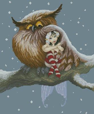 Fairy And Owl (Moguerou)