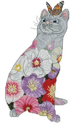 Hollyhock Cat (Petit)