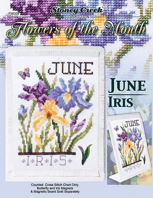 Flowers Of The Month-June Iris