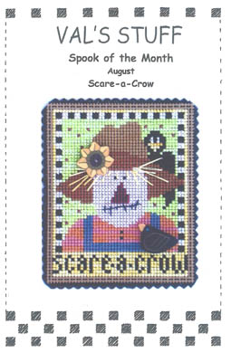 August Ornament-Scare-A-Crow