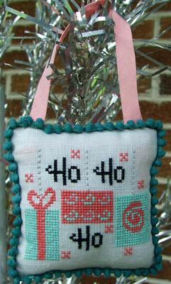 Mid-Century Modern Christmas-Ho Ho Ho