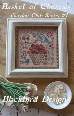 Basket Of Cherries-Garden Club1