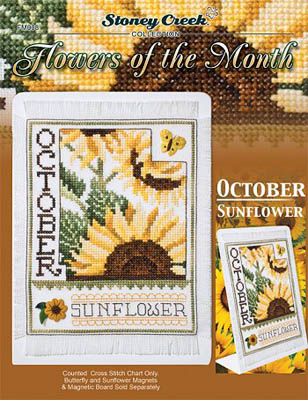 Flowers Of The Month-October Sunflower