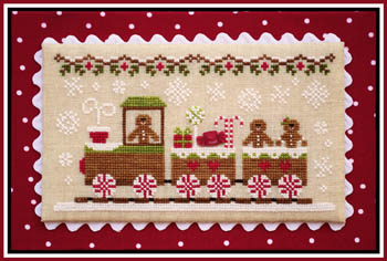 Gingerbread Village 1-Gingerbread Train