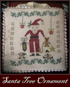 Christmas Tree Ornaments-Santa