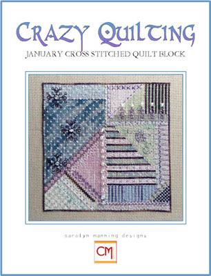 Crazy Quilting Block-January