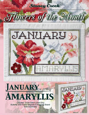 Flowers Of The Month-January