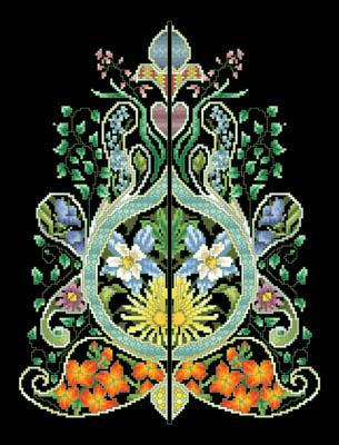 Foliated Moorish Motif