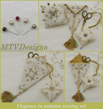 Elegance In Autumn Sewing Set