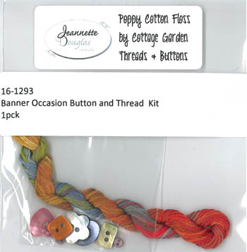 Banner Occasion Thread & Buttons Kit