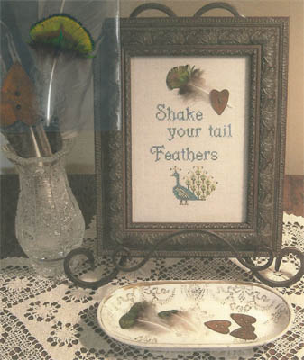 Shake Your Tail Feathers (includes feather & button)