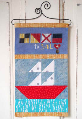 Made With Love - Sail (includes button & charm)