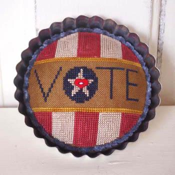 Vote! (Includes Button)