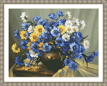 Bouquet Of Blue
