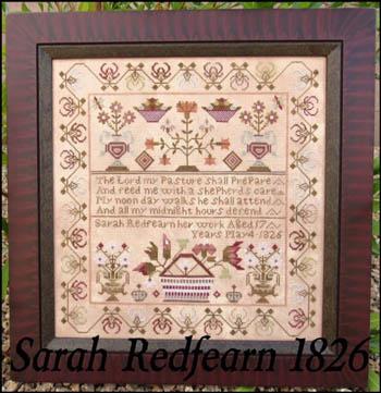 Sarah Redfearn 1826