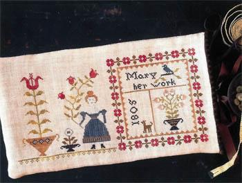 Mary's Work Sampler Bag