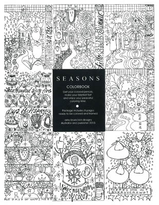 Seasons - Colorbook (8 Pages)