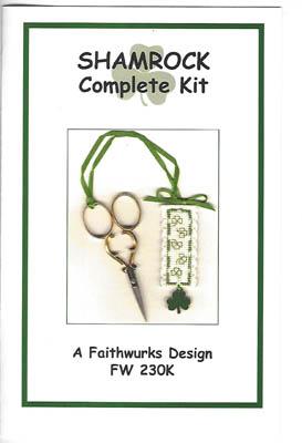 Shamrock Scissor Fob Kit